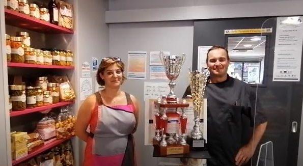 Sébastien et Stéphanie Hautreux - boutique SH traiteur La Flèche